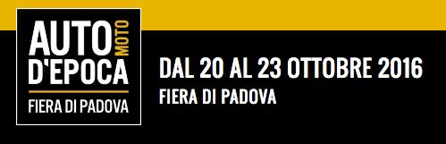Fiera Padova auto d'epoca